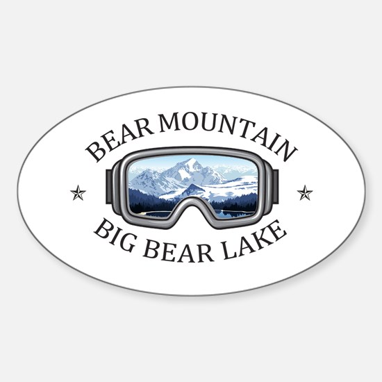Bear Mountain - Big Bear Lake - Californ Decal