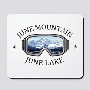 June Mountain - June Lake - California Mousepad