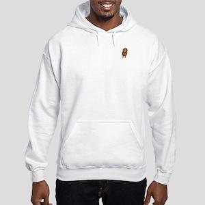 Bob Dole's Peanut Butter On Back Hooded Sweatshirt