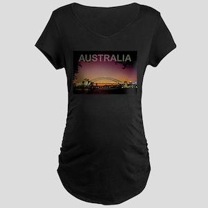 Australia Maternity Dark T-Shirt