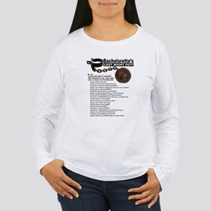 Bachelorette Checklist Women's Long Sleeve T-Shirt