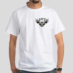"""""""Wings"""" LMPD White T-Shirt"""