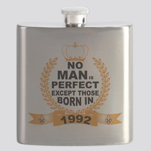 No Man is Perfect Except Those Born in 1992 Flask