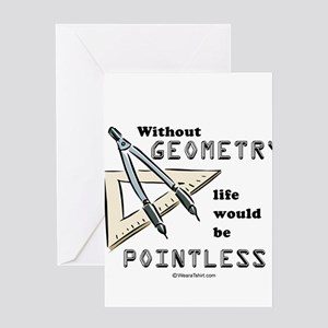 Without geometry, life is pointless - Greeting Car