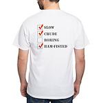 TZT White T-Shirt