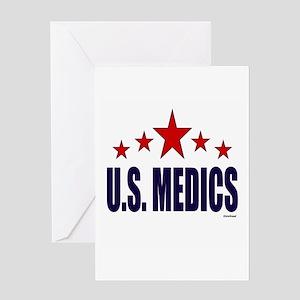 U.S. Medics Greeting Card