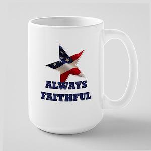 Always Faithful Large Mug