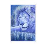 Dream Lion Mini Poster Print