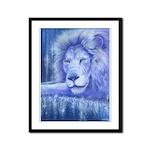 Dream Lion Framed Panel Print