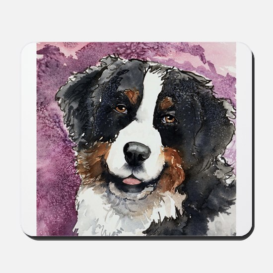 "Bernese Mt. Dog ""Eyes Of Trus Mousepad"