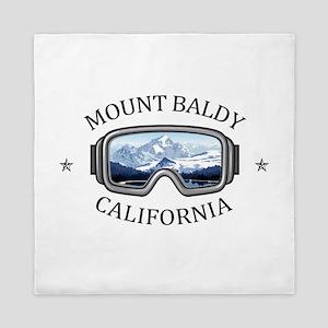 Mount Baldy Ski Lifts - Mount Baldy Queen Duvet