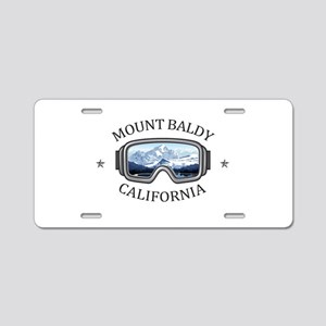 Mount Baldy Ski Lifts - M Aluminum License Plate