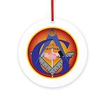 Masonic Intertwined Ornament (Round)