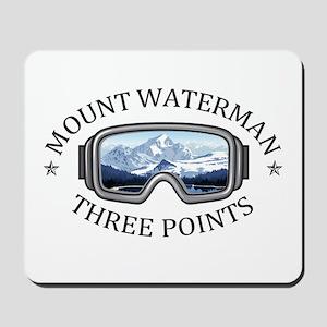 Mount Waterman - Three Points - Califo Mousepad