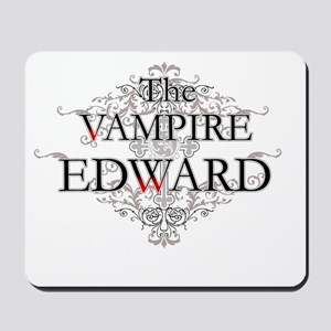 The Vampire Edward Mousepad
