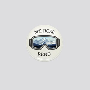 Mt. Rose - Reno - Nevada Mini Button