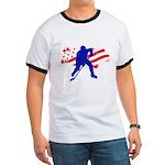 Hockey USA Ringer T