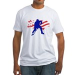 Hockey USA Fitted T-Shirt