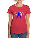 Hockey USA Women's Dark T-Shirt