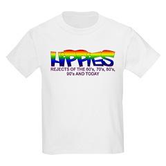 Anti Liberal Hippies Kids T-Shirt