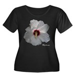 Rose of Sharon Women's Plus Size Scoop Neck Dark T