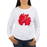 Geranium Flower Women's Long Sleeve T-Shirt