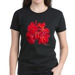 Geranium Flower Women's Dark T-Shirt