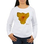 Lily Flower Women's Long Sleeve T-Shirt