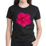 Petunia Flower Women's Dark T-Shirt