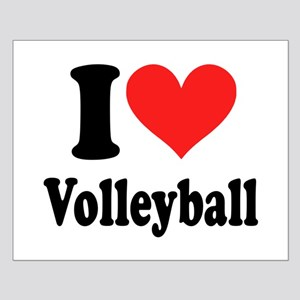 I Heart Volleyball: Small Poster