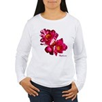 Peony Flower Women's Long Sleeve T-Shirt
