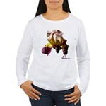 Iris Flower Women's Long Sleeve T-Shirt