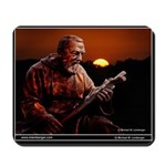 St Patrick's Georgetown,Padre Pio, statue Mousepad