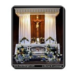 St Patrick's Georgetown,Alter, Decorated, Mousepad