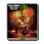 Tower Bridge, London, England, Fireworks, Mousepad