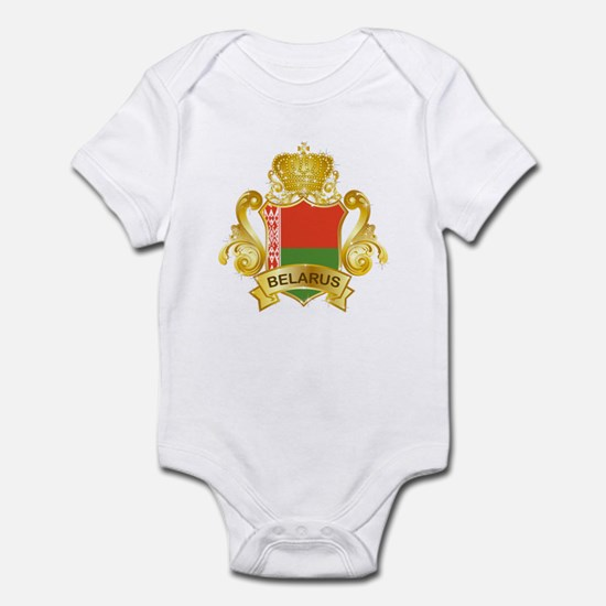 Gold Belarus Infant Bodysuit
