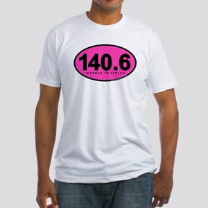 140.6 Ironman Triathlon Fitted T-Shirt