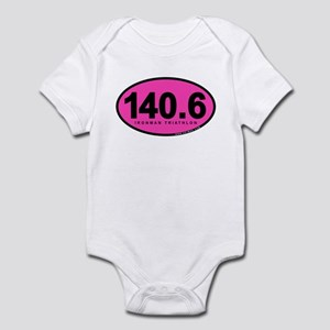 140.6 Ironman Triathlon Infant Bodysuit