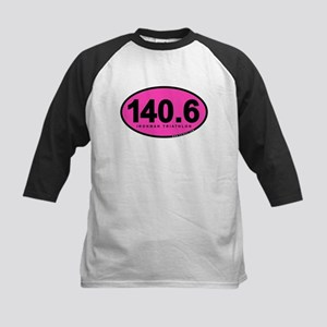 140.6 Ironman Triathlon Kids Baseball Jersey
