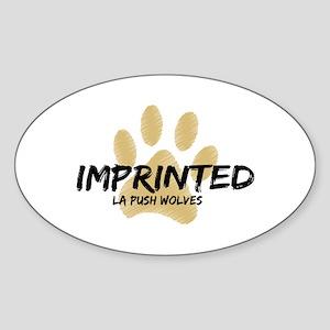 Imprinted (La Push) Sticker (Oval)