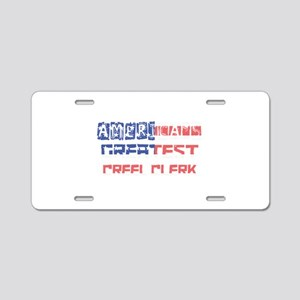America's Greatest Creel Cl Aluminum License Plate