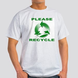 Please Recycle Light T-Shirt