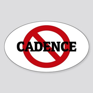 Anti-Cadence Oval Sticker
