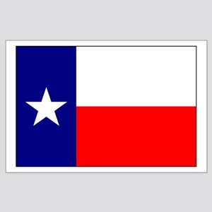 Flag of Texas Large Poster