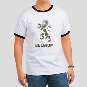 Vintage Belgium Ringer T