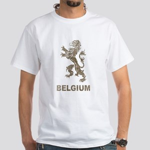 Vintage Belgium White T-Shirt