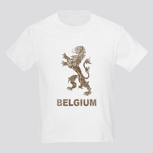 Vintage Belgium Kids Light T-Shirt