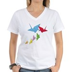 Origami Birds (V-Neck)