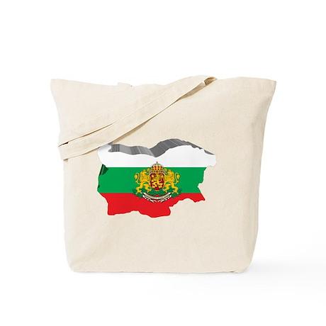 3D Map Of Bulgaria Tote Bag