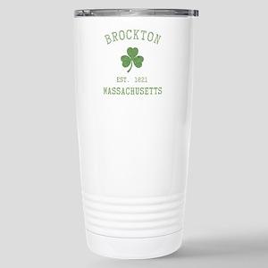 Brockton Massachusetts Stainless Steel Travel Mug